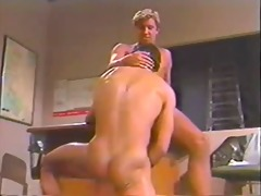 homo vintage 1988 2 lads bb in an office