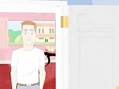 homo retro manga