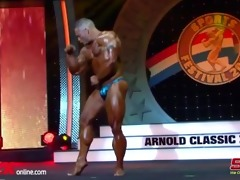 musclebull flex: posing routine arnold classic