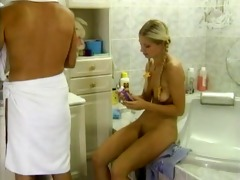 blonde teen - muff shaved &; drilled