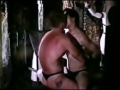 vintage leather gay slavery