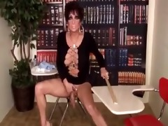 drag queen teacher jerking off