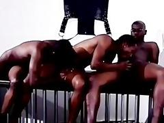 black fellows threesome