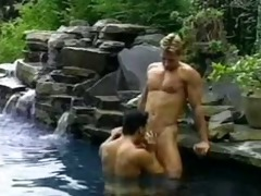 dan hopper and tom farrell hot sex by the pool
