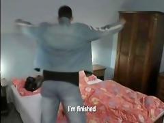 bareback twink squat - scene 4