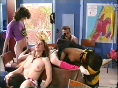sexual party in classroom